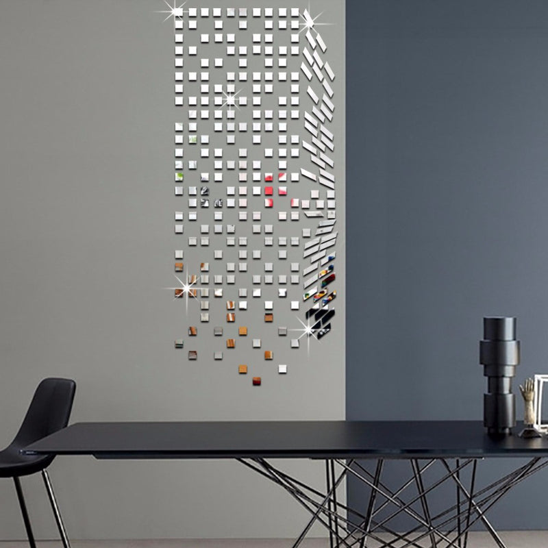 3D Mosaic Mirrors Wall Stickers - InStyle Walls LLC