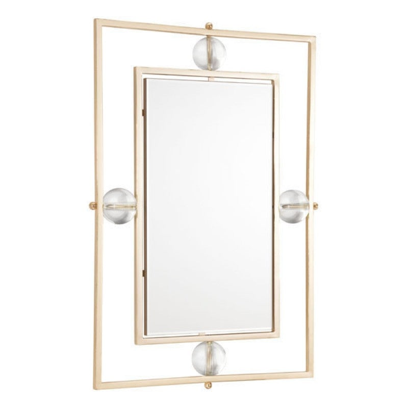 Floating Rectangle Lucite Mirror - InStyle Walls LLC