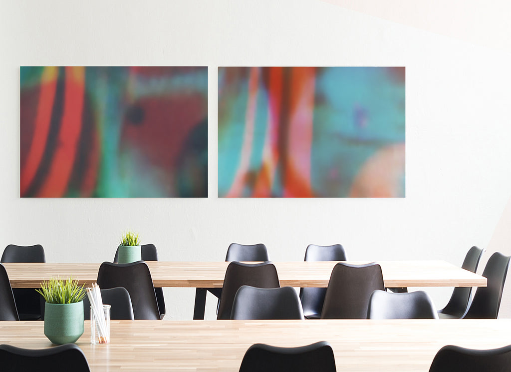 Reflections I Canvas Wrap - InStyle Walls LLC
