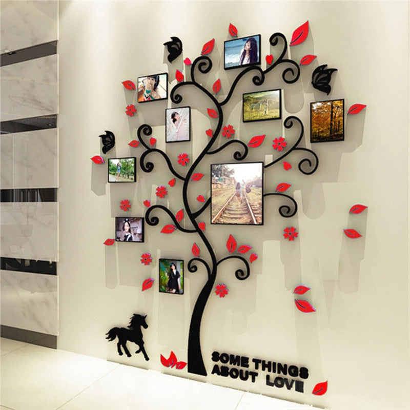 3D Crystal Tree Wall Decals - InStyle Walls LLC