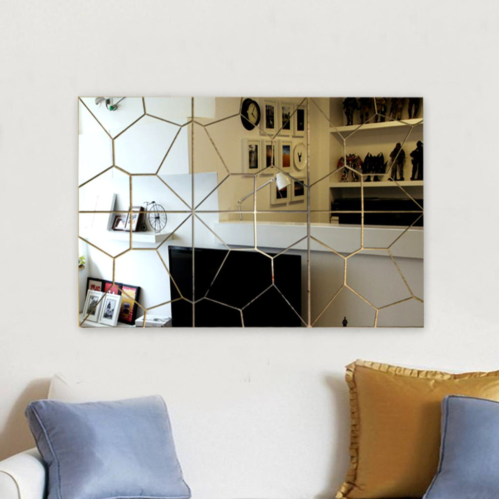 Geometry Mirror Wall Decor - InStyle Walls LLC