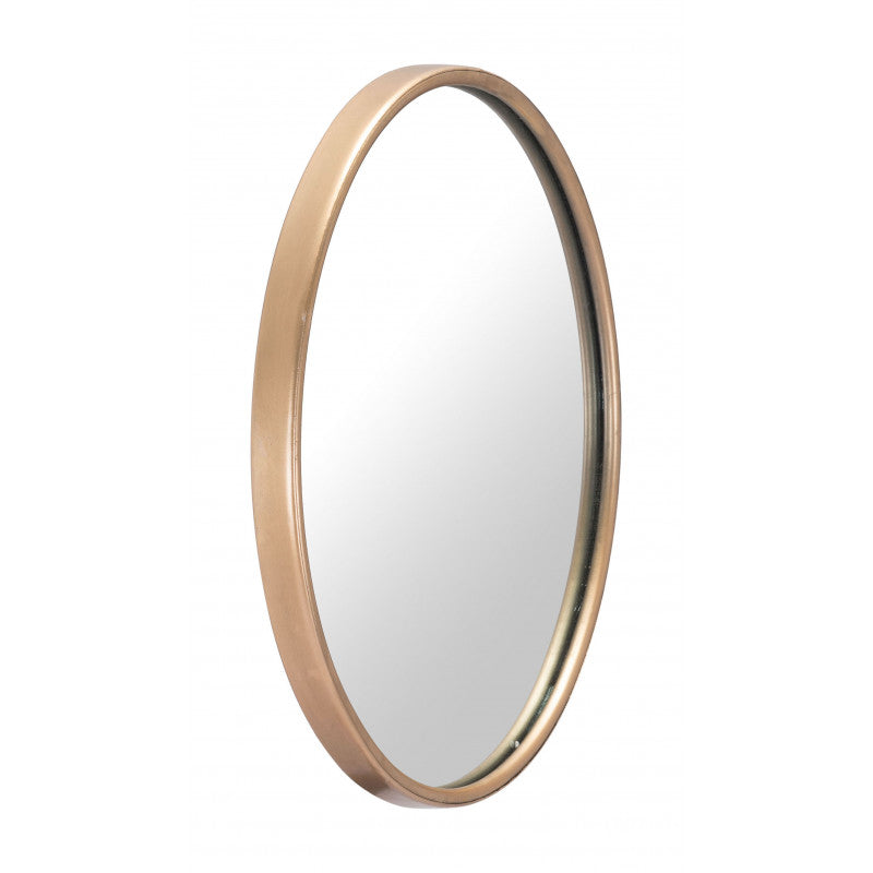 Large Ogee Mirror Gold - InStyle Walls LLC