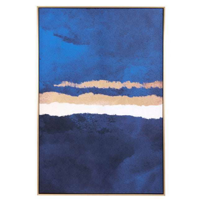 Ocean Horizon Canvas Multicolor - InStyle Walls LLC
