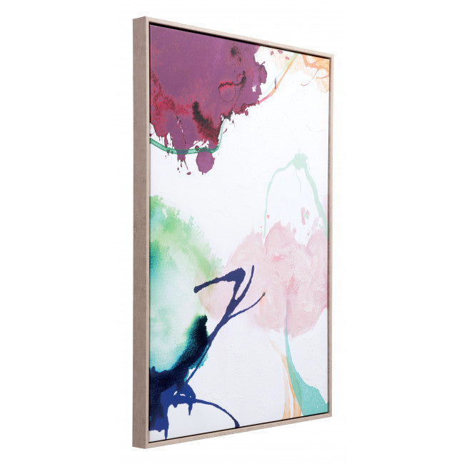 Abstract Party Canvas Multicolor - InStyle Walls LLC