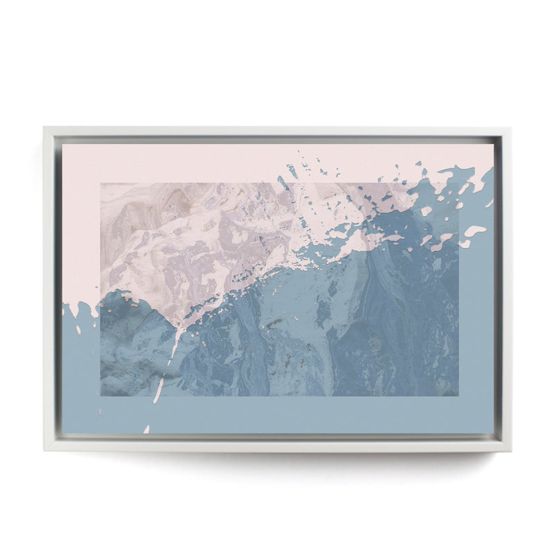 Blue Coast Framed Canvas - InStyle Walls LLC