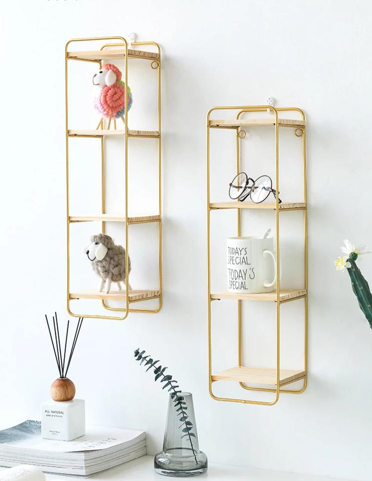 Nordic style wall shelf home organization - InStyle Walls LLC