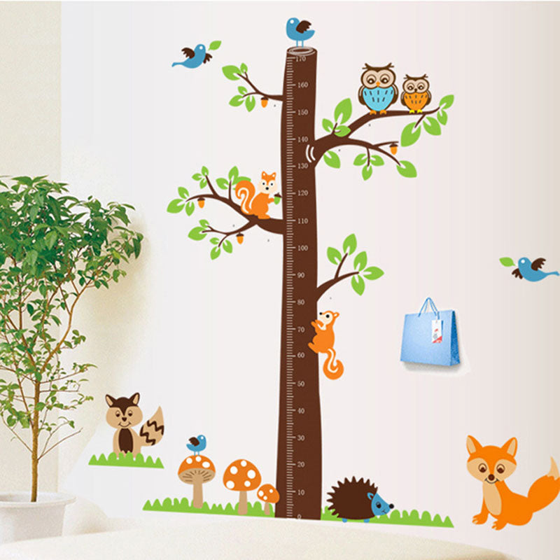 Tree Height Ruler Measure Wall Stickers - InStyle Walls LLC