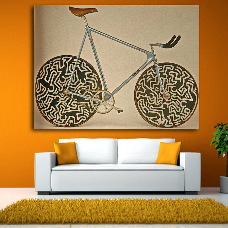 Cinelli Bike Wall Art - InStyle Walls LLC