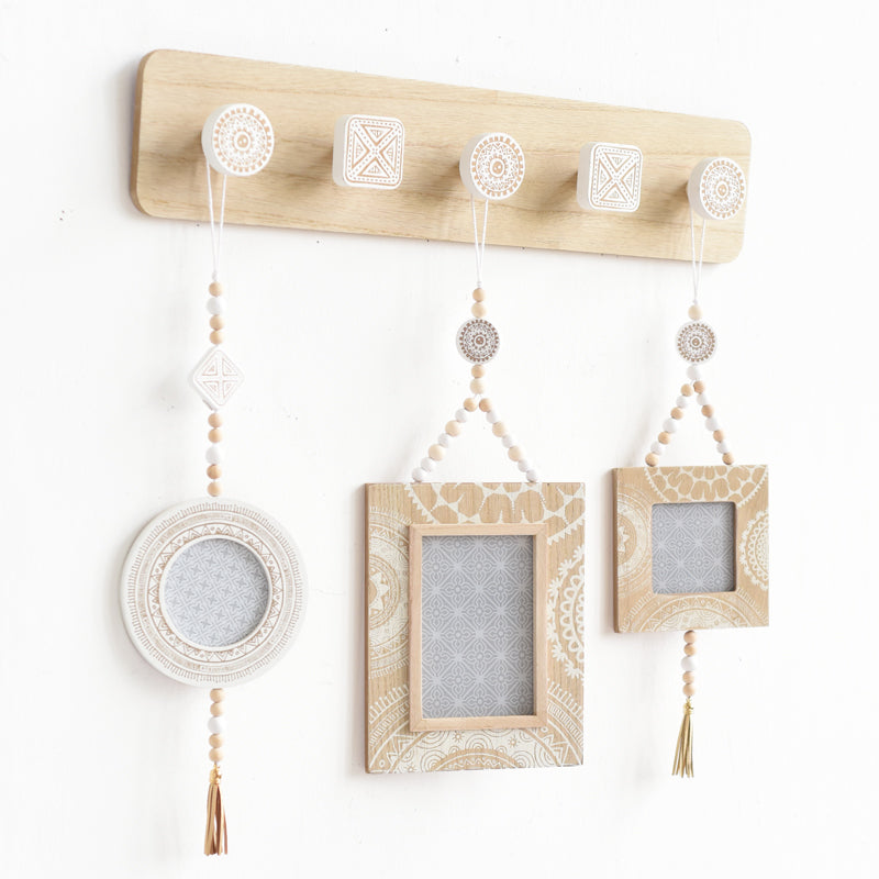 Creative Nordic wooden hooks - InStyle Walls LLC