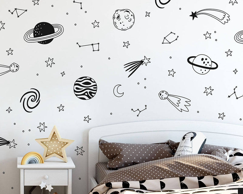 Space Adventure Wall Stickers - InStyle Walls LLC