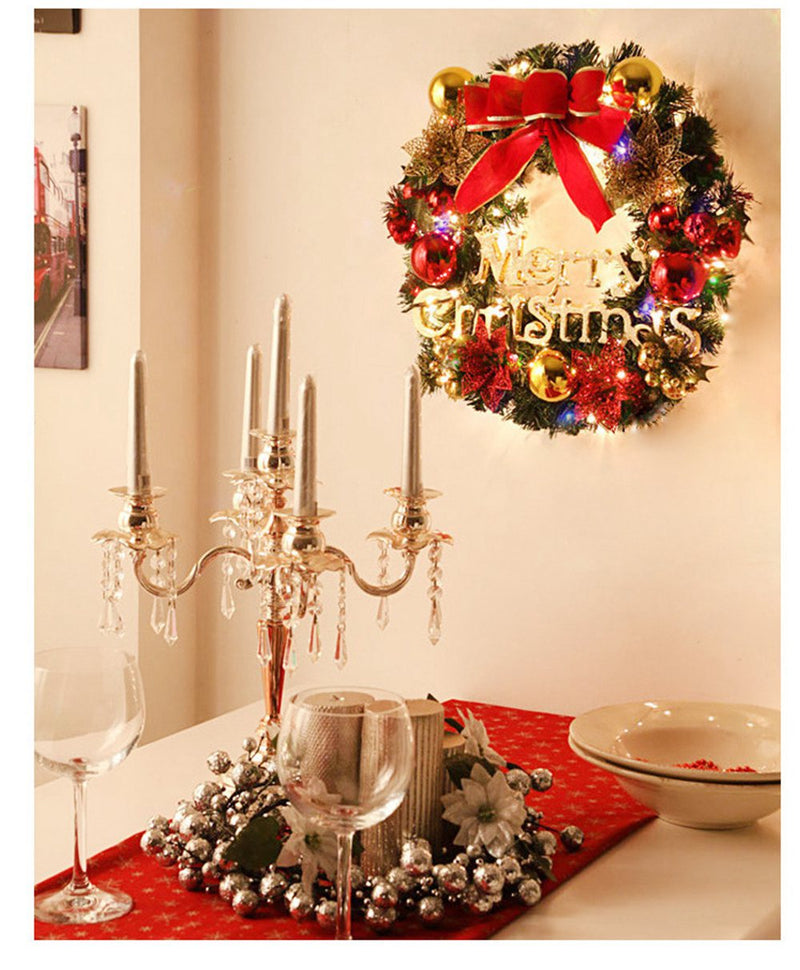 Pendant Wall Decor Christmas Wreath - InStyle Walls LLC