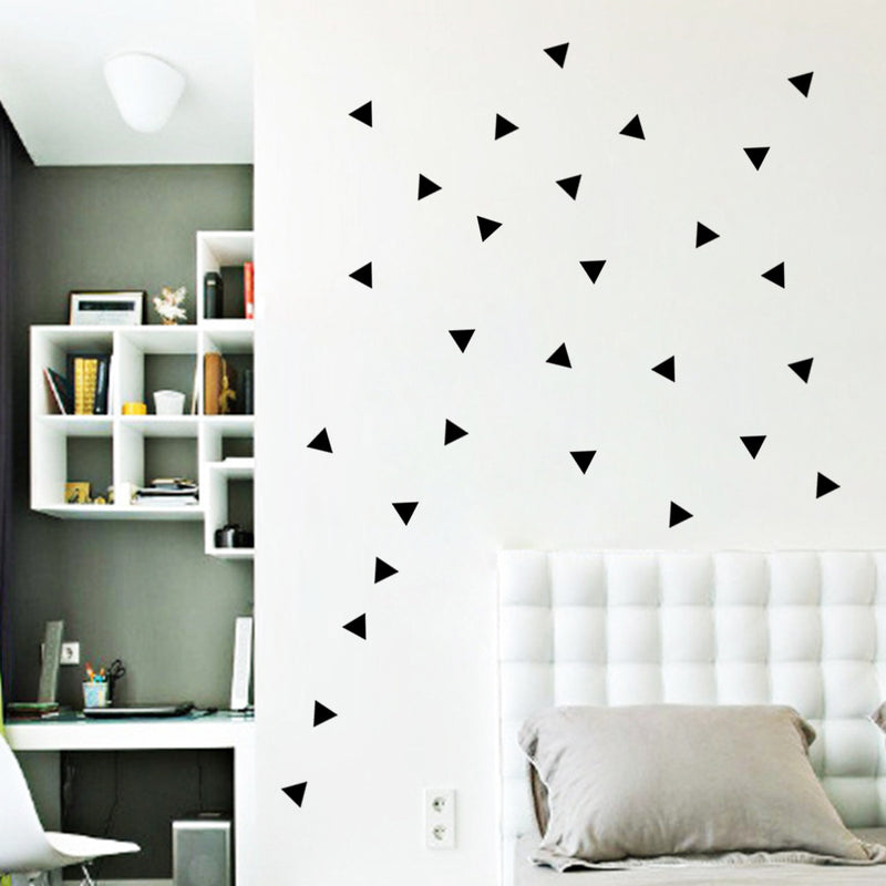 Triangles Modern Wall Stickers - InStyle Walls LLC