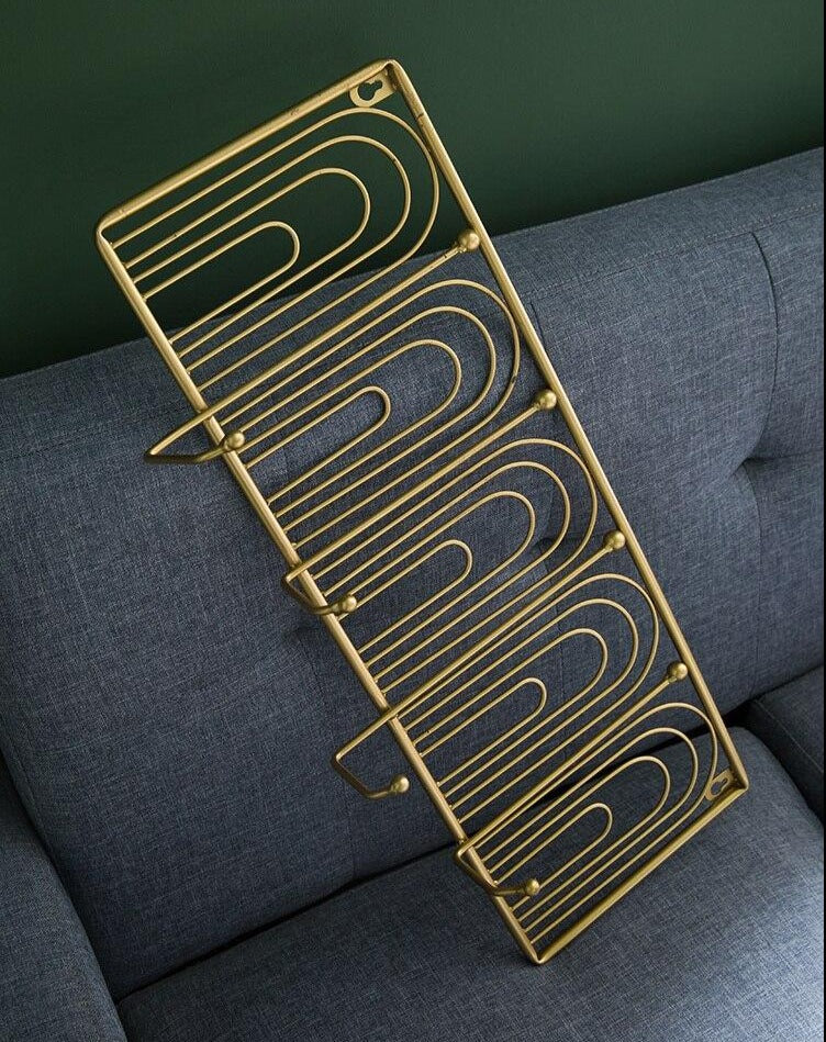 Gold Frame Hanger Wall Decoration - InStyle Walls LLC