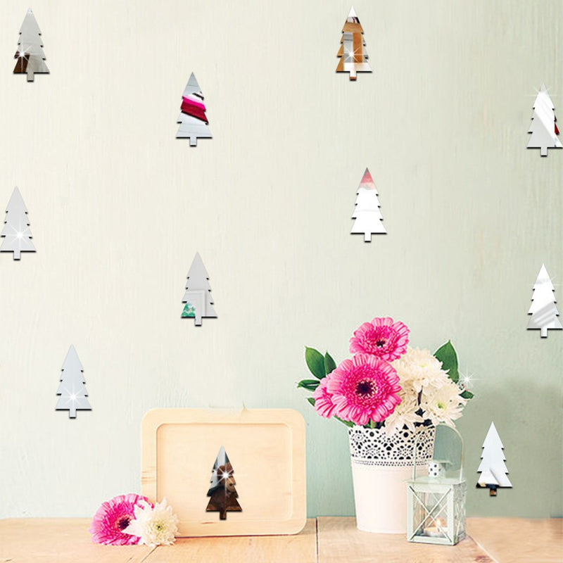 Pine Silver Tree Children Room Wall Stickers - InStyle Walls LLC