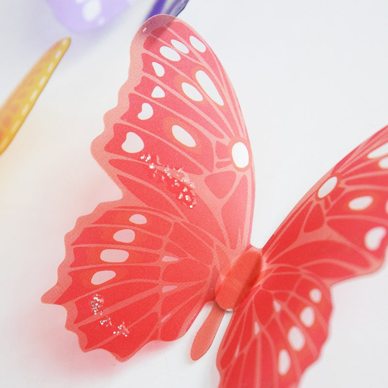 3D Crystal Butterflies Wall Stickers - InStyle Walls LLC