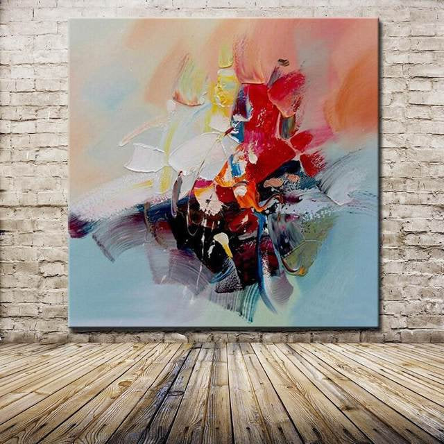 Abstract Design Knife Oil Painting - InStyle Walls LLC