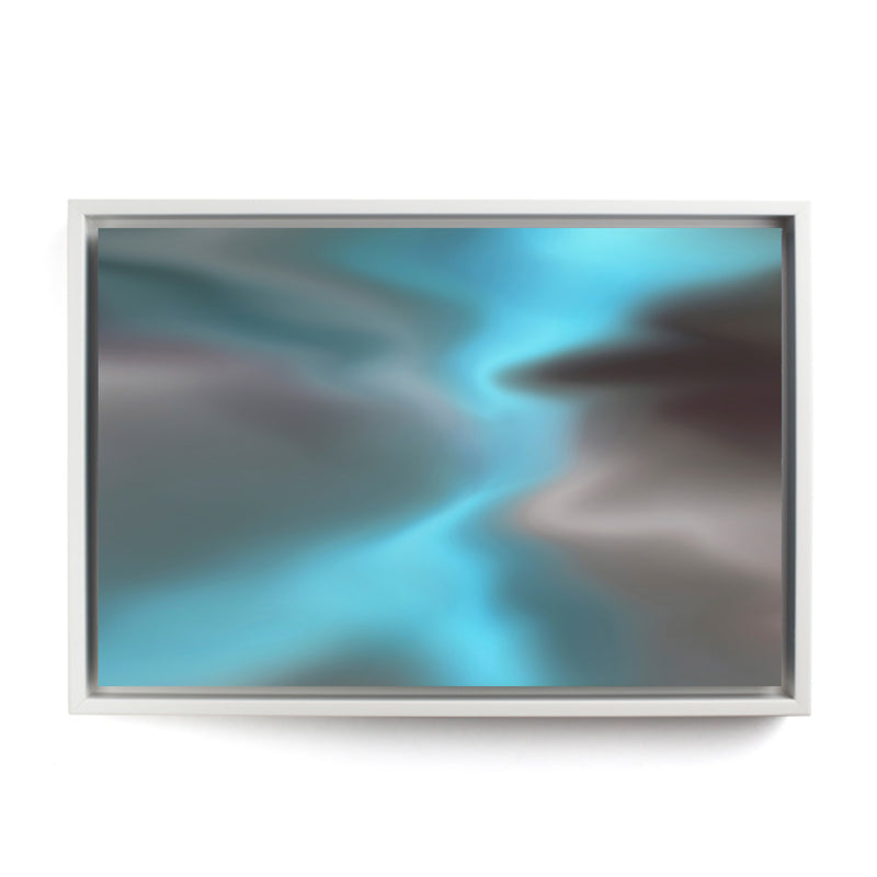 In the Clouds Framed Canvas - InStyle Walls LLC