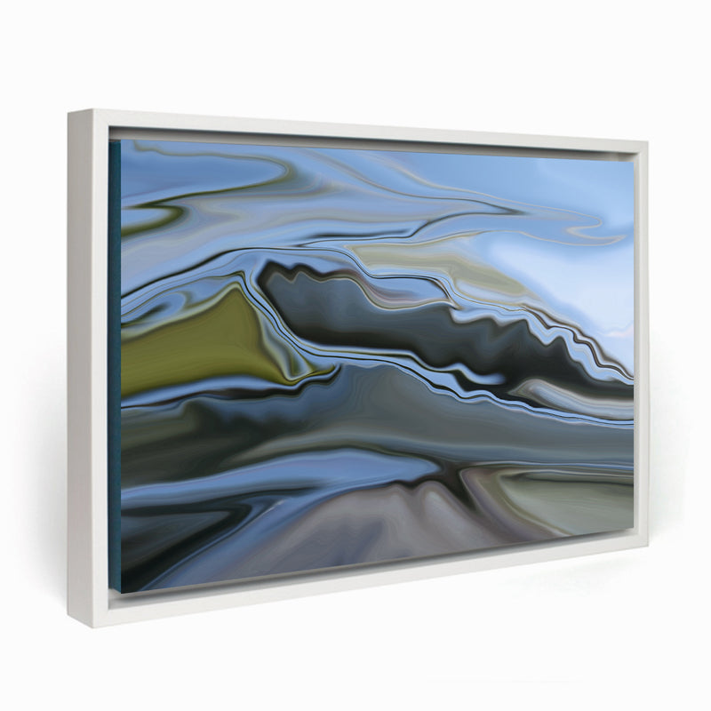 Mountains Framed Canvas - InStyle Walls LLC