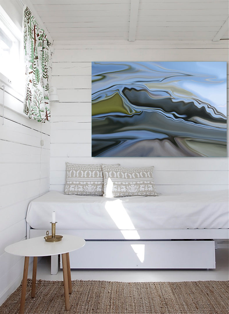 Mountains Canvas Wrap - InStyle Walls LLC