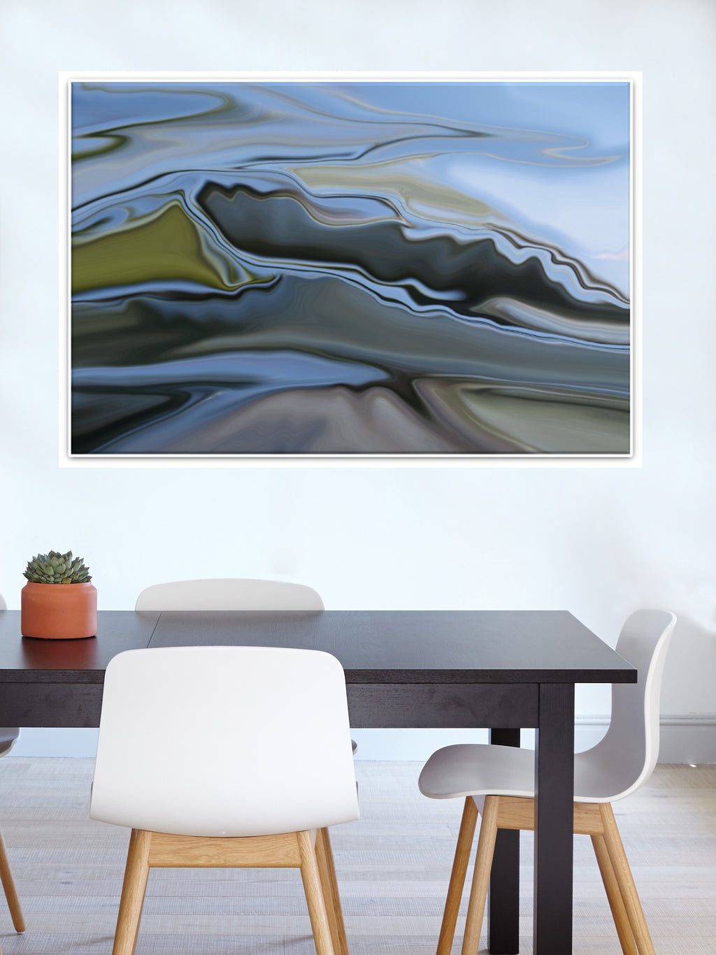 Mountains Canvas Poster - InStyle Walls LLC