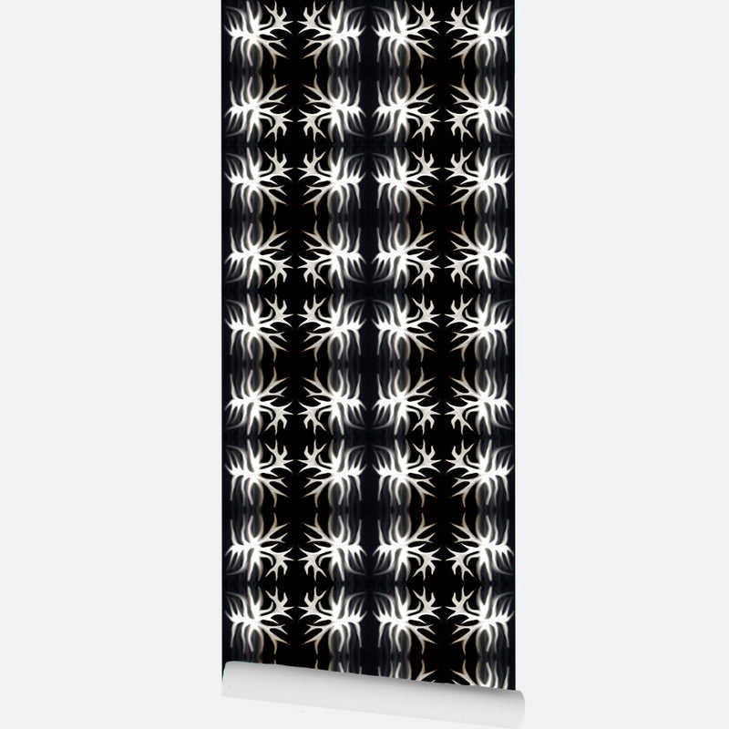 Glowing Rays Wallpaper - InStyle Walls LLC