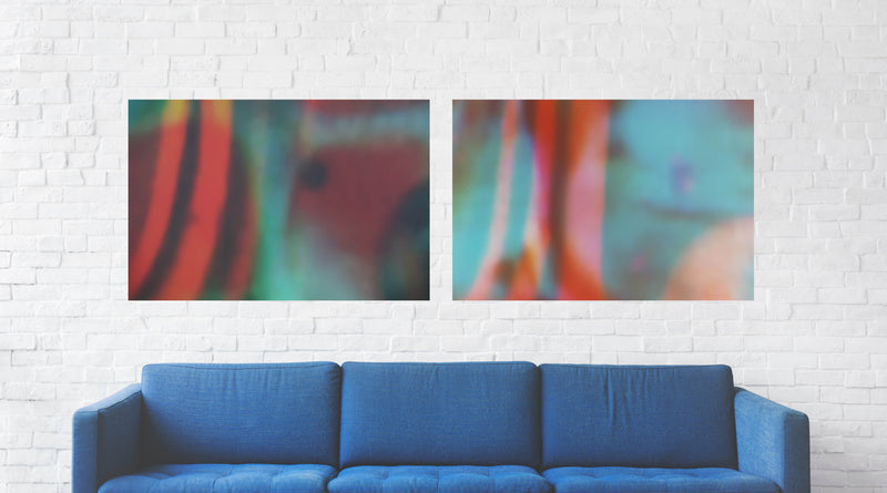 Reflections II Canvas Wrap - InStyle Walls LLC