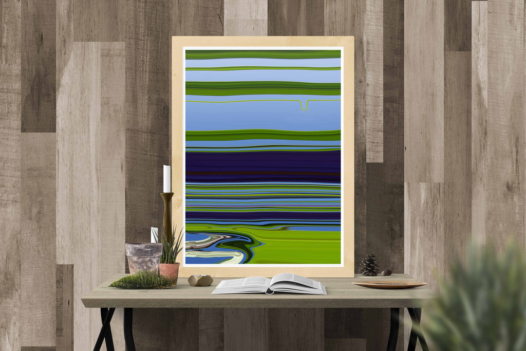 Riverside Canvas Poster - InStyle Walls LLC