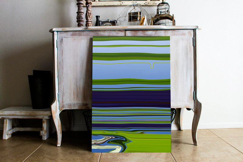 Riverside Canvas Wrap - InStyle Walls LLC