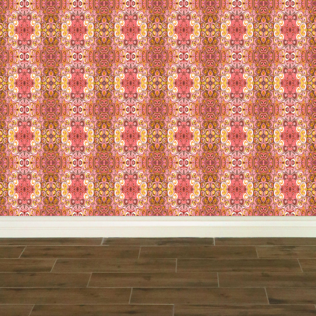 Rose Blossoms Wallpaper - InStyle Walls LLC