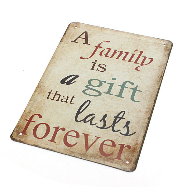Family Wall Decor Metal Sign - InStyle Walls LLC