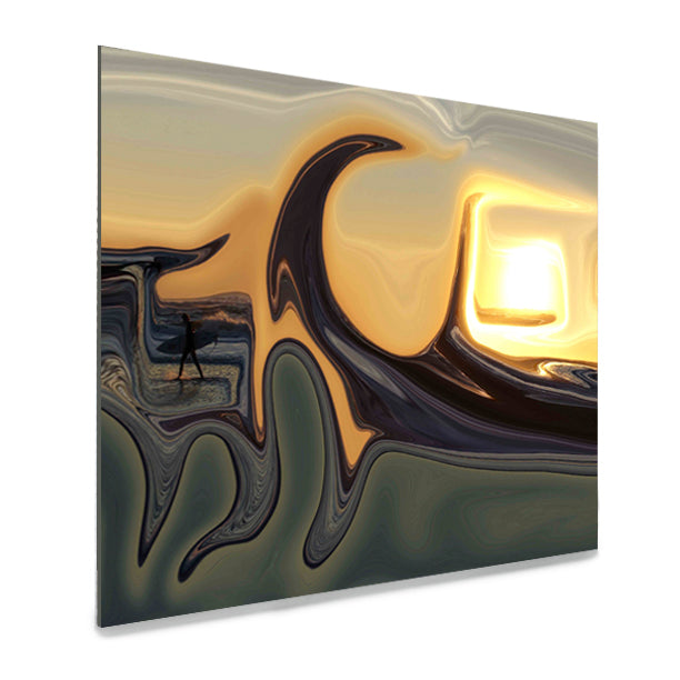 Sunset Surf Acrylic Print - InStyle Walls LLC
