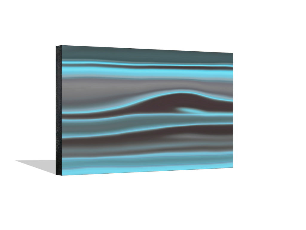 Teal Clouds I Canvas Wrap - InStyle Walls LLC