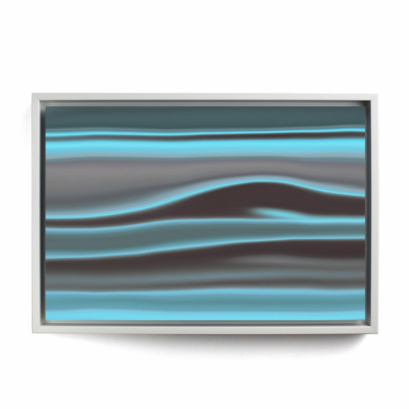Blue Coast Framed Canvas