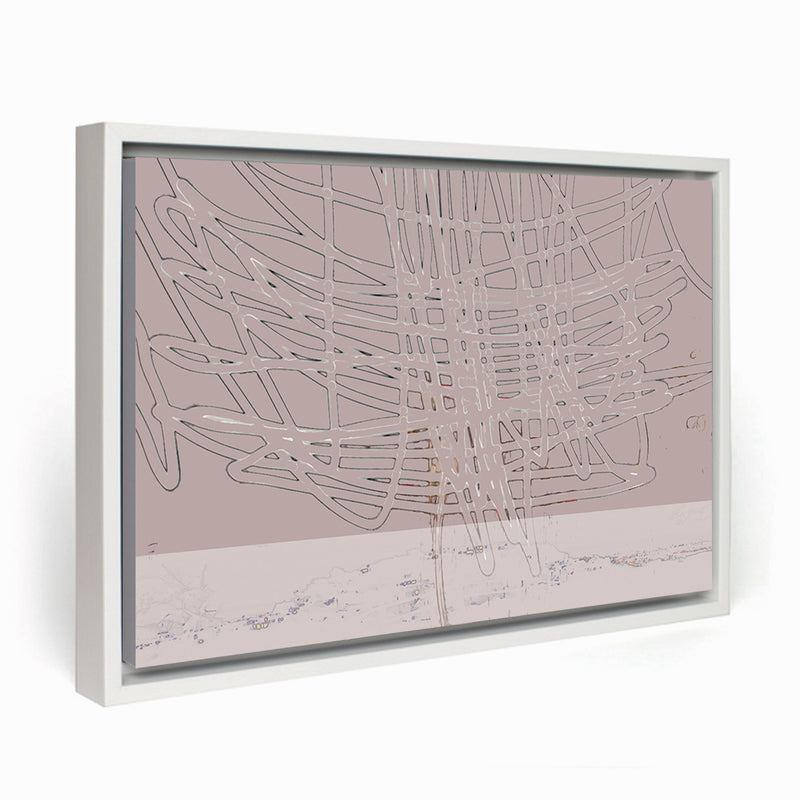 Thunder Above the City II Framed Canvas - InStyle Walls LLC