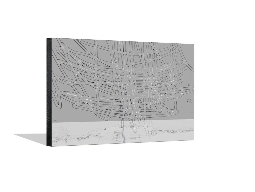 Thunder Above the City I Canvas Wrap - InStyle Walls LLC