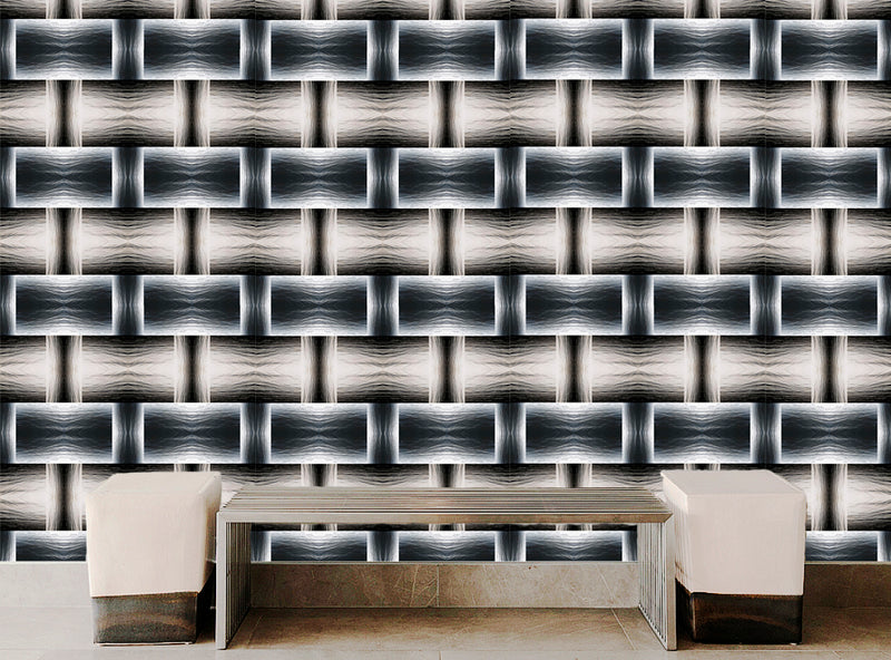 Water Blocks Wallpaper - InStyle Walls LLC