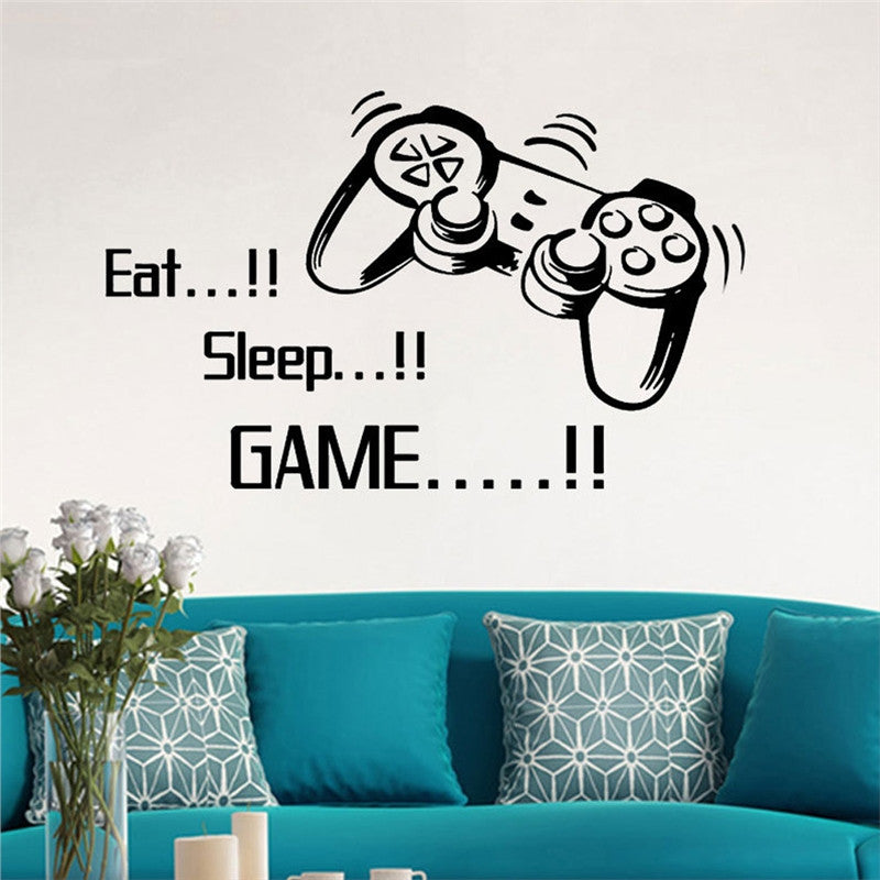 Gamepad Joystick Wall Stickers - InStyle Walls LLC