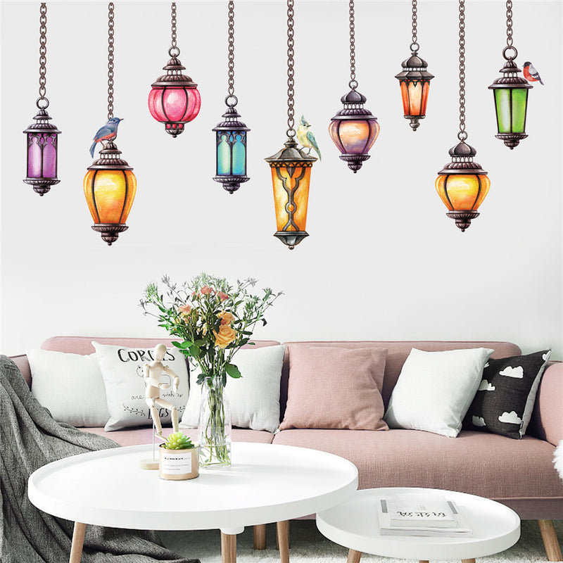 Art Chandelier Home Wall Decal - InStyle Walls LLC