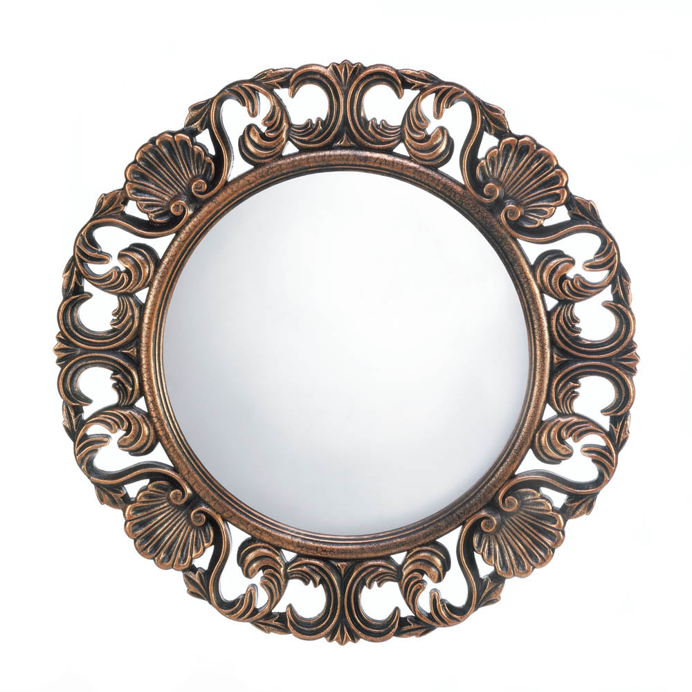 Heirloom Round Wall Mirror - InStyle Walls LLC