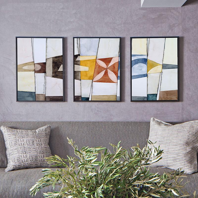 Minimalist Abstract Paintings - InStyle Walls LLC