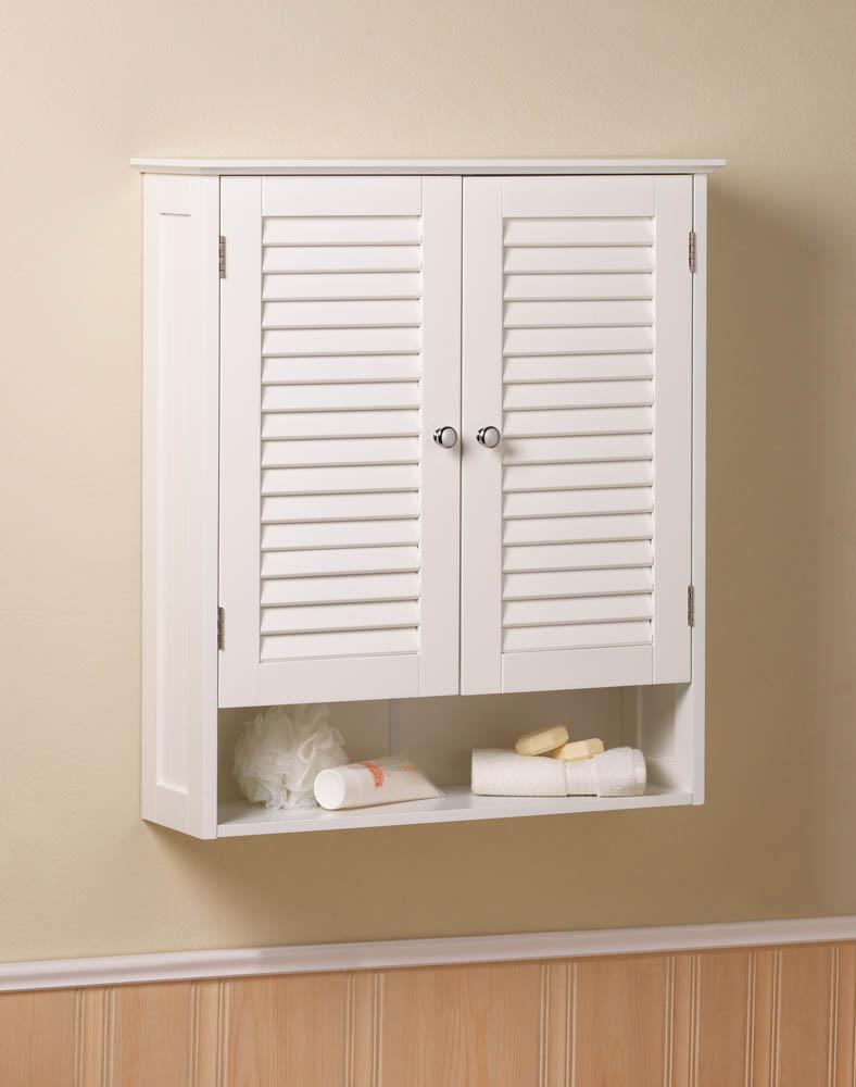 Nantucket Wall Cabinet - InStyle Walls LLC