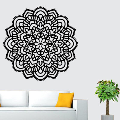 Mandala Flower Home Wall Stickers - InStyle Walls LLC