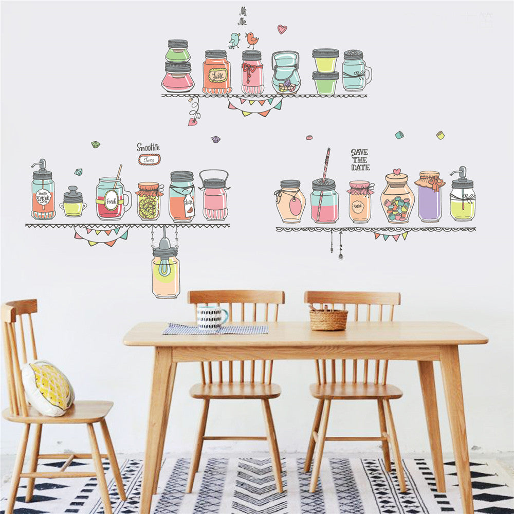 Cartoon Home Decor Wall Decal - InStyle Walls LLC