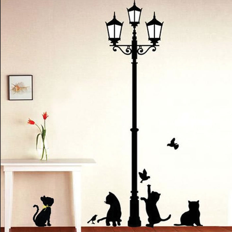Funny Cats Playing Wall Stickers - InStyle Walls LLC