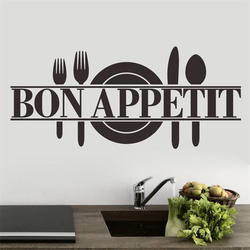 Bon Appetit Cook Tools Wall Sticker - InStyle Walls LLC