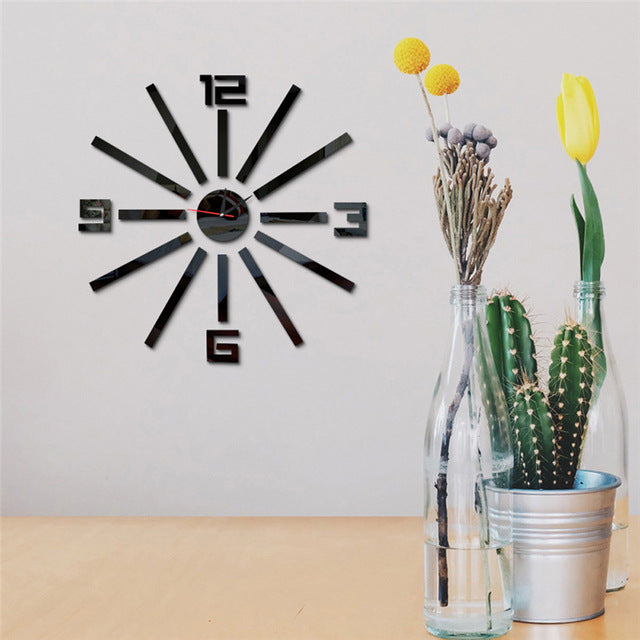 Fashion Big Clock Wall Decor - InStyle Walls LLC