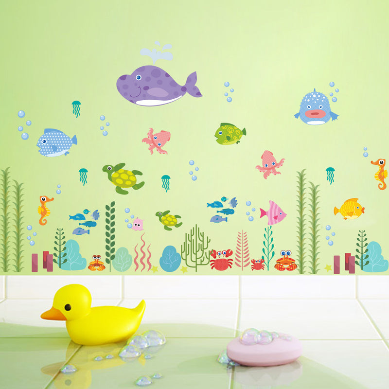 Funny Cute Animals Switch Wall Stickers