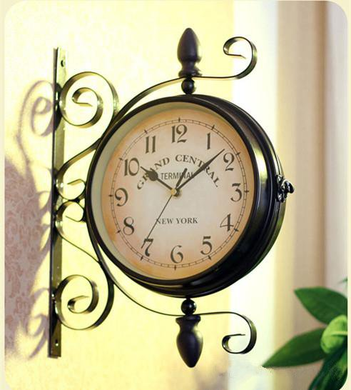 Fashion Retro Rustic Decor Wall Clock