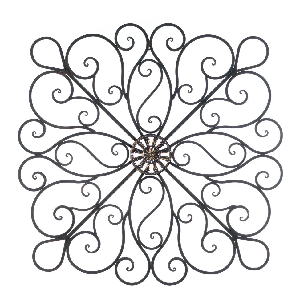 Iron Scrollwork Wall Decor - InStyle Walls LLC