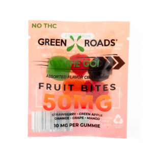 CBD Fruit Bites – 50 MG - CBD Timeout